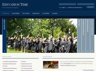 free education web templates