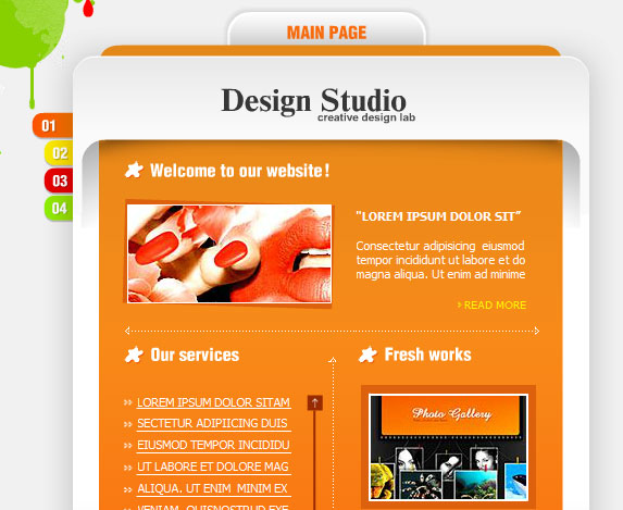 flash ecommerce website templates free