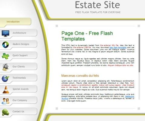 Free flash site
