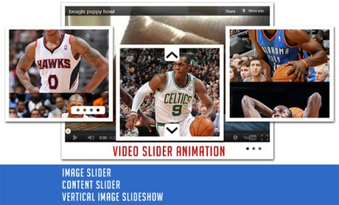 Free image and video slide animation banners
