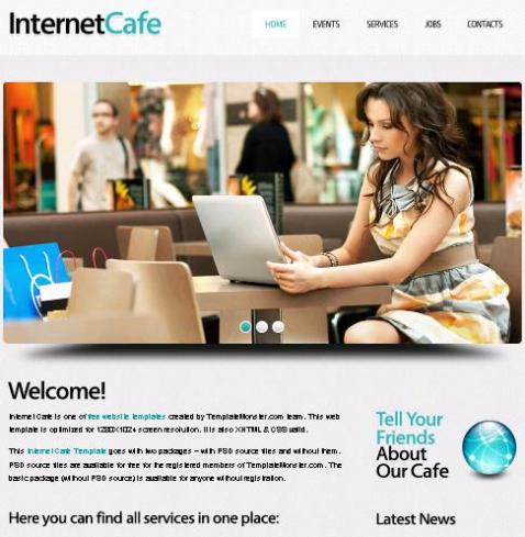 Free web site templates
