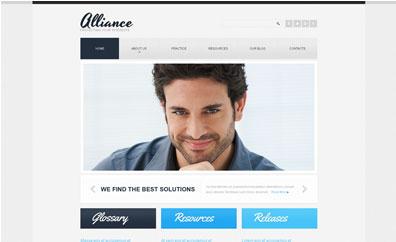 free single page web templates