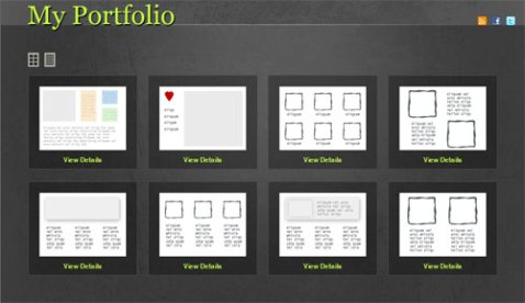 free portfolio gallery for wordpress