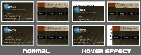 free image jquery hove animations