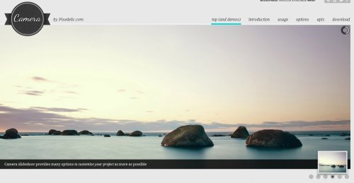 jQuery web slider free download