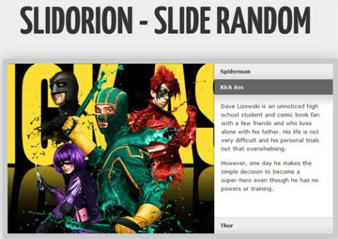 Free slider image gallery