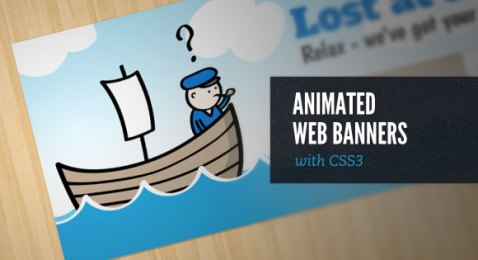 jQuery animation banner