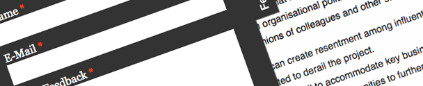 Jquery Animated Feedback Form Jquery Animated Feedback Form