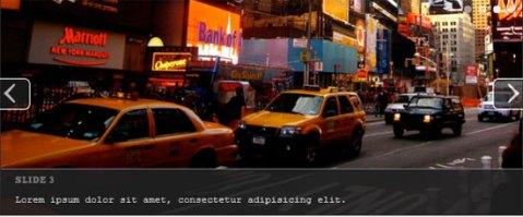 web jQuery slider