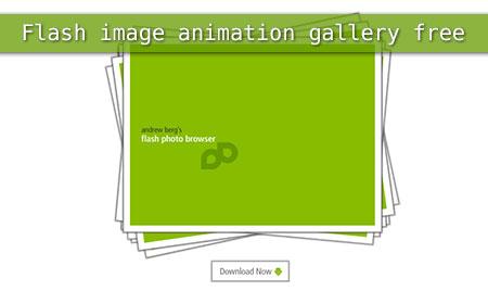 flash animation photo gallery