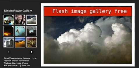 flash gallery