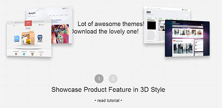 jQuery hover animation 3d effect