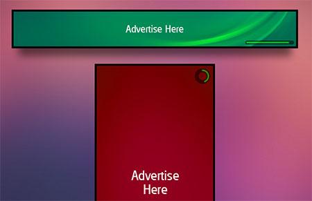 web ads jquery banner