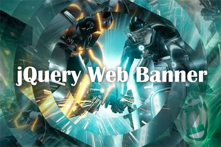 free jQuery web banner animations