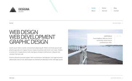 HTML Template Free download