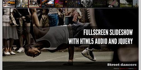 free fullscreen image slider