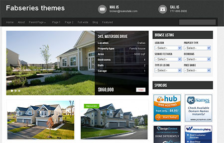 Interior WordPress Themes free download
