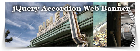 jquery accordion animation web banner