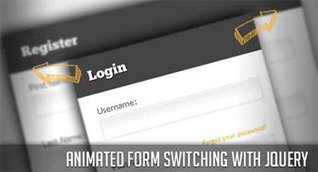 login and registration form download