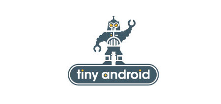 android robo logo design