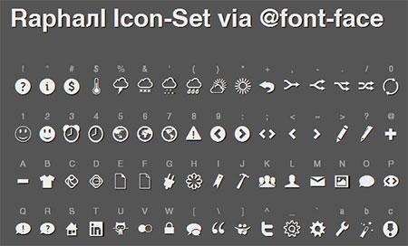 free web font icons