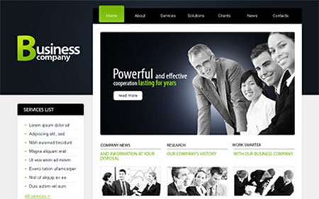 psd web templates download free