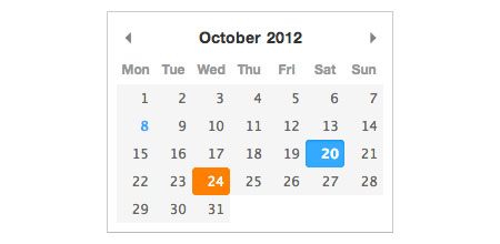 datepicker jquery plugin