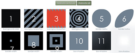 css3 hover animation effect