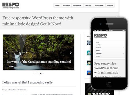 wp responsive blog themes free download