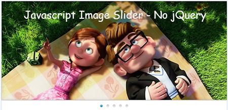 javascript image animation slider