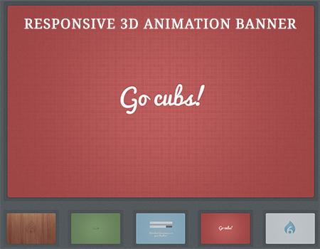 responsive web banner