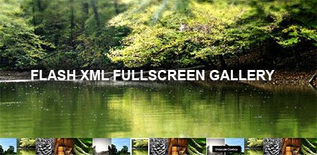 Flash Fullscreen Gallery