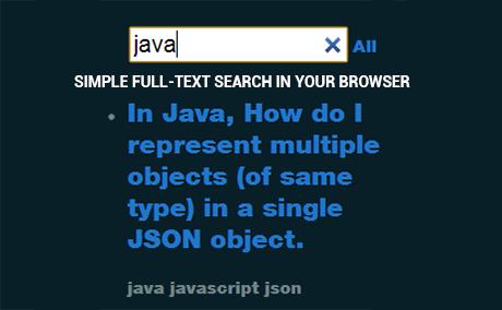 jquery auto search box