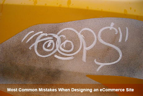 common mistakes in ecommerce web design