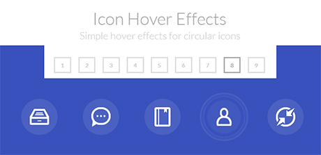 icon hover effect jquery plugin