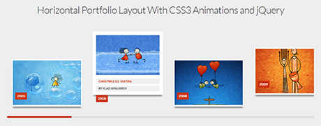 jquery portfolio animation
