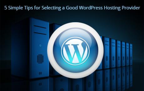Selecting a Good WordPress Hosting Provider