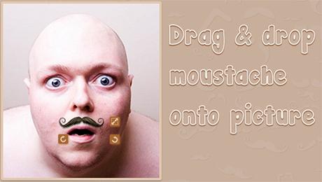 Moustache insert images