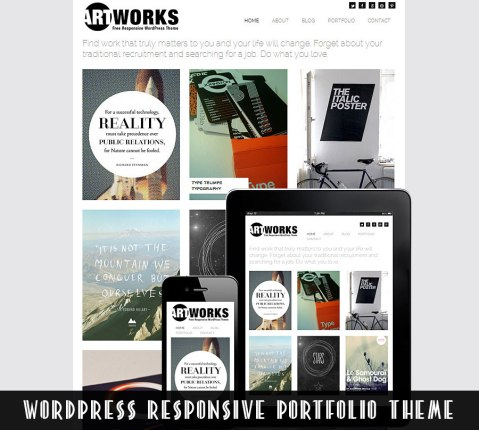 responsive wordpress portfolio theme