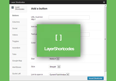 Shortcodes WordPress Plugin Free Download