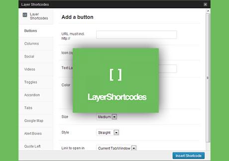 Shortcodes WordPress Plugin Free Download