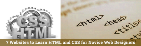 Learn HTML and CSS for Novice Web Designers