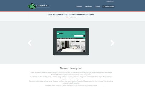WordPress_Responsive_Interior_Store_Theme