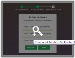 A Modern Multi Step Form with jQuery and CSS3