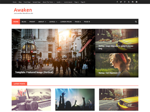 Awaken WordPress Themes