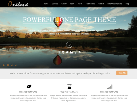 onetone WordPress Themes