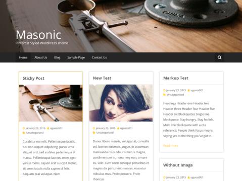 Masonic WordPress Themes